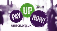 Pay Up Now Graphic