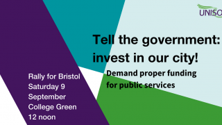 9 Sept rally for Bristol