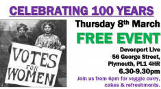 Plymouth International Womens Day 2018